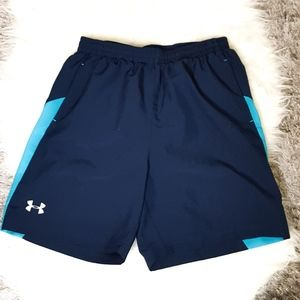 Under Armour Two Tone Active Shorts Sz M